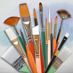 Četkice za akrilno slikarstvo
