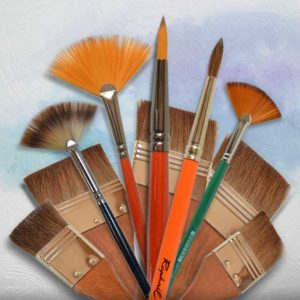 Četkice za akvarel i gvaš